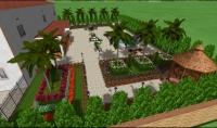 تصميم اللاند سكيب والحدائق وتصميم حمامات السباحه وبرك المياه والشلالات