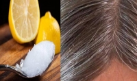 الشعر الأبيض يعود الى لونه الطبيعي