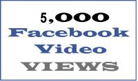 اضافة 5000 مشاهدة لاي فيديو خاص بالفيسبوك