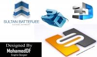 تصميم 5 شعارات باشكال وافكار مختلفة ثلاثية الابعاد باحترافية تامة بالاضافة لهدية اخرى