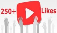 لايكات يوتيوب youtube اكثر من 250 لايك likes امنة 100% | 5$ فقط