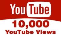 مشاهدات يوتيوب : اكثر من 10000 مشاهدة سريعة و امنة 100%   10$ فقط