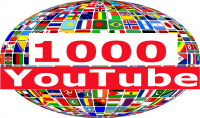 1000 مشاهدة يوتيوب مستهدفة بدقة عالية لاي دولة في العالم