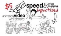 فيديو اعلاني بتقنية الوايت بورد الجدابة دقيقةونصف ب5دولار