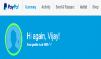 إنشاء حساب بايبال مفعل ببطاقة فيزا كارد