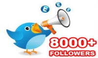 اضافة 8000 متابع عربي خليجي ب10$ دولار فقط