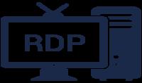 rdp بسرعة صاروخية 450m s ويندوز 10; core i7 بصلاحيات الأدمن