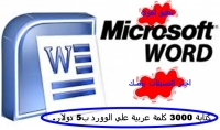 كتابة 3000 كلمة عربية علي ال Word ب 5 دولار