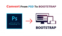تحويل ملفات psd الى bootstrap