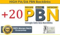 20 PBN باكلينك هاي اثورتي PR9 أرشفة