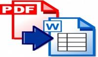 تفريغ كتب PDF على ملف Word