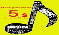 ★ صناعة موسيقتك الخاصة بك ..   توزيع موسيقي   ★