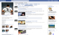 ضبط إعدادات صفحة الفايسبوك الخاصة بك و ربطها مع حسابك على انستغرام و تويتر و مع قناتك على اليوتوب و موقعك