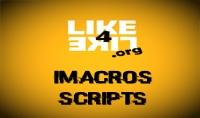 اعطيك 18 ايماكرو سكريبت جاهز لجمع النقاط في الموقع like4like