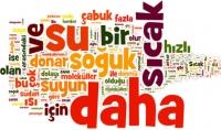 كتابة 500 كلمه الأكثر إستخداماً في اللغه التركيه