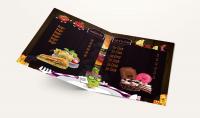 تصميم قائمة اسعار   Restaurant menu