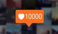 إضافة 1500 لايك أجنبية الى صور حسابك على إنستغرام