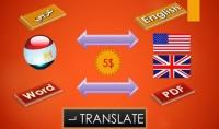 700كلمة أو 3صفحات ترجمة احترافية يدوية بين العربية والإنكليزية