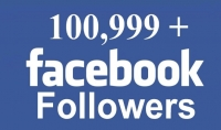 1000 متابع عربي  انجليزي 100% لحسابك على فيس بوك مقابل 5$