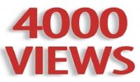 ساقدم لك  4000 مشاهدة يوتيوب مضمونة الجودة $5 فقط