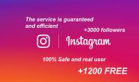 4200 متابع اجنبي و عربي حقيقيين لحسابك على انستغرام