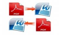 الكتابة على الوورد وتحويل PDF لـ Word