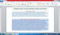 كتابة 1000 كلمة على برنامج word او excel
