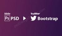 تحويل اي psd ال html5  css3  bootstrap