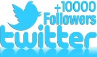 10.000 متابع خليجي عربي سريع في حسابك على التويتر
