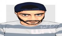 أرسم لك بورترية  Vector Art  بطريقة إحترافية