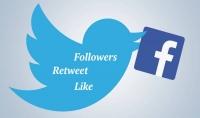 100 ريتويت و 500 متابع حقيقي وفعال على Twitter