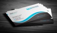 سأصمم لك بطاقة احترافية business card