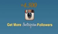 اضافة 4.500 متابع حقيقي وفعال على انستغرام خلال 48 ساعة فقط