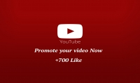 اضافة 700 لايك لأي فيديو على يوتيوب