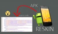 الحصول على الكود المصدري لاي تطبيق