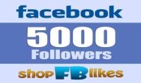 5000 متابع لحسابك في الفيسبوك متفاعلين
