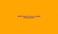 اضافة 6000 اعجاب علي منشوراتك على الفيسبوك