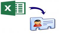 تحويل أرقام الهواتف من ملف إكسل إلى جهات إتصالExcel to vCard