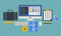 تصميم و تطوير اي موقع انترنت باي لغة و باستخدام اي قاعدة بيانات