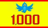 1000 متابع خليجي عالي الجودة ومتفاعل  علي توتير