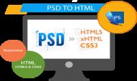 تحويل ملف PSD إلى html5  css3