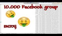 ملف text به 10.000 جروب على الفيسبوك