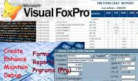 إصلاح أو عمل شاشة إدخال بيانات بلغة FoxPro