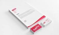 عمل تصميم احترافى للكارت الشخصي بك و بشركتك  تصميم لورقة العمل الخاصة بك  ليتر هيد