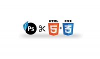 تحويل تصميم موقع من الفوتوشوب لملفات HTML5   CCS و مدعم با seo