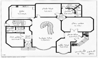 رسم مخططات الهندسة المعمارية autocad 2d