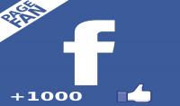 1000 معجب عربي حقيقي 100% نشيط لصفحتك على الفيس بوك