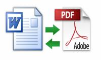 تحويل ملفات  word  إلى  pdf  و العكس