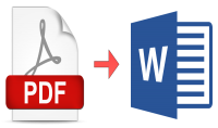 تحويل ملفات PDF الى وورد أو العكس