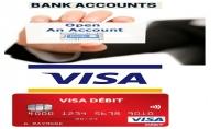 احصل الان على حساب بنكي اوربي حقيق مع VISA CARD تصلك الى باب منزلك